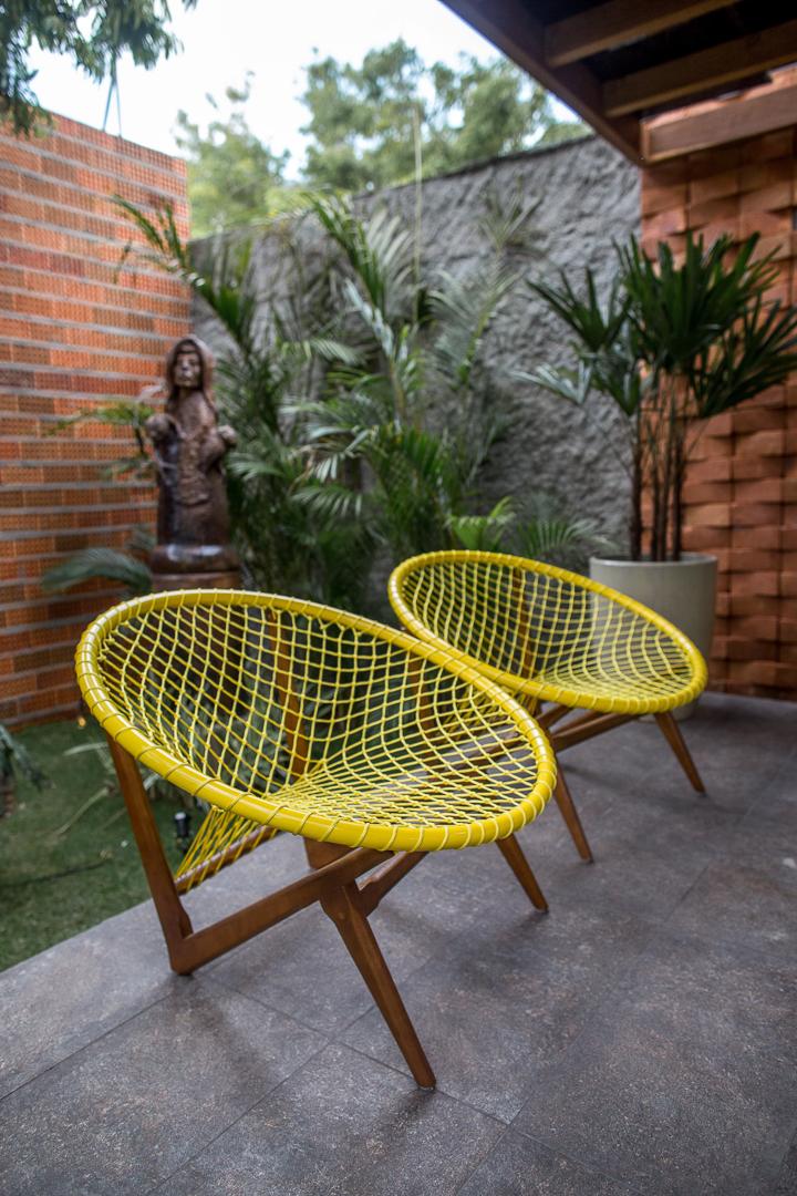 Tidelli - Casa Cor Paraíba 2017 - Cadeira Escuna Amarela