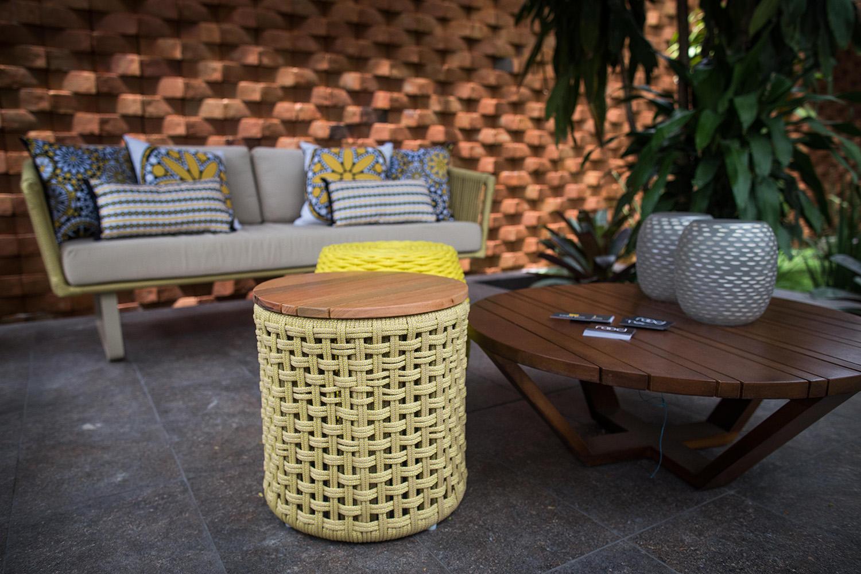 Tidelli - Casa Cor Paraíba 2017 - Puff Amarelo