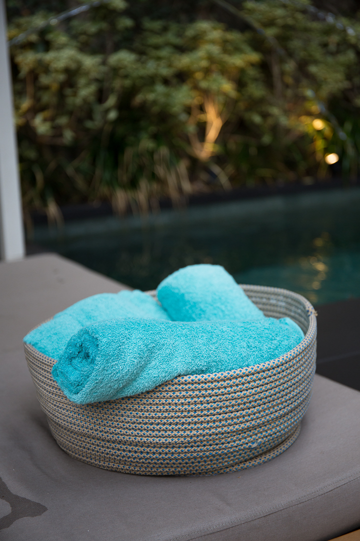 Tidelli - Casa Cor Pernambuco - Cesta com toalhas