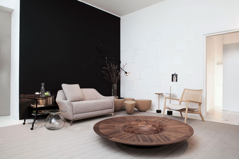 Milan Design 2017 - Jader Almeida - Sofa Dora, Mesa Centro Twist e Poltrona Mad