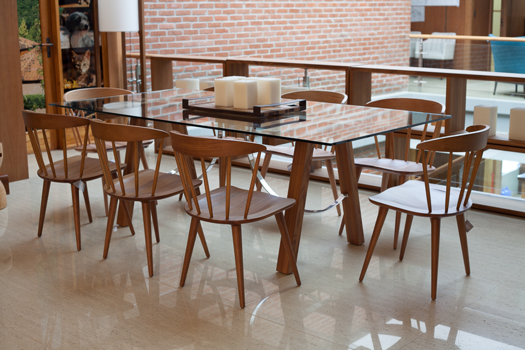 Coleção Sierra Brasilidades - Sala de Jantar - Mesa e Cadeiras de Madeira