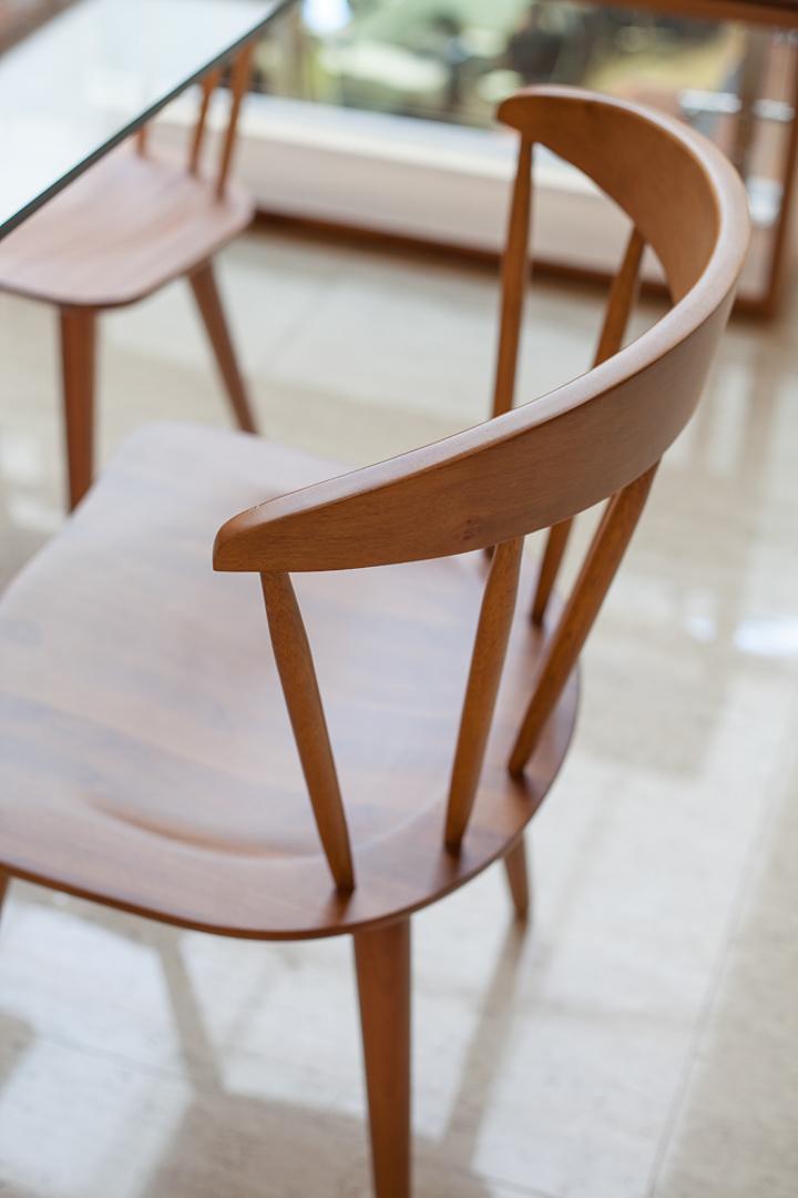 Coleção Sierra Brasilidades - Sala de Jantar - Cadeiras de Madeira