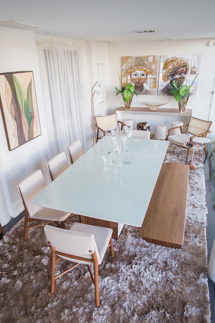 Vitrine Artcasa - João Coura e Taty Travassos - Sala de Jantar - Mesa e Cadeiras