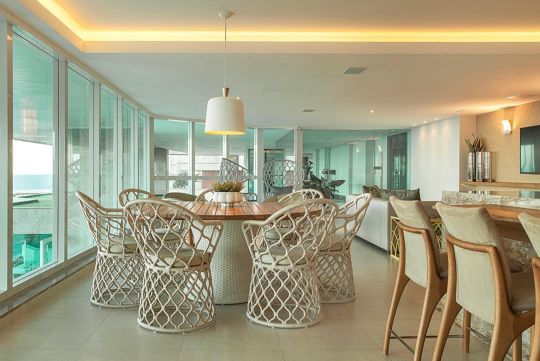 Projeto TSAE: Espaço Gourmet - Mesa e Cadeiras Tidelli