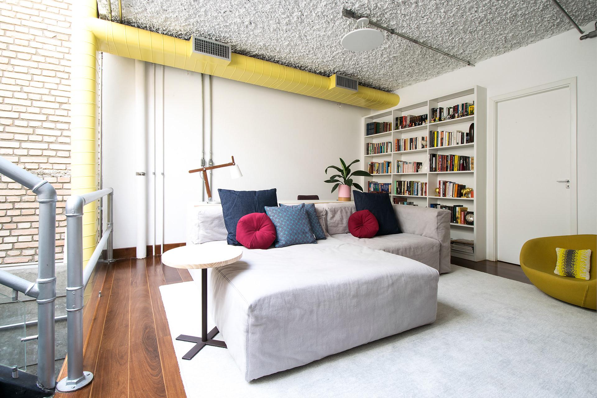 Projeto: Casa Vila Jardim - Sofá Lego (Estudiobola)