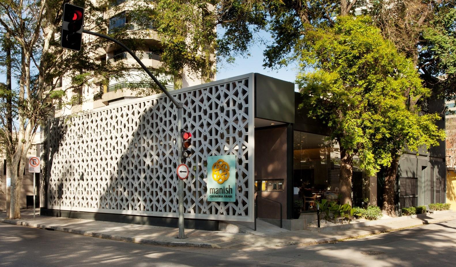 Projeto Restaurante Manish: Fachada